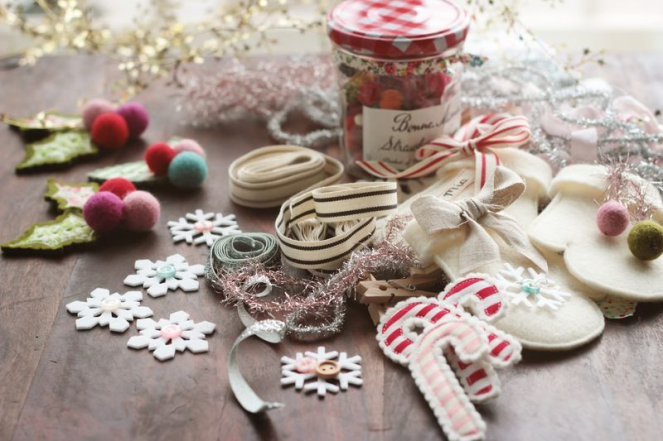 Lovely handmade christmas craft ideas