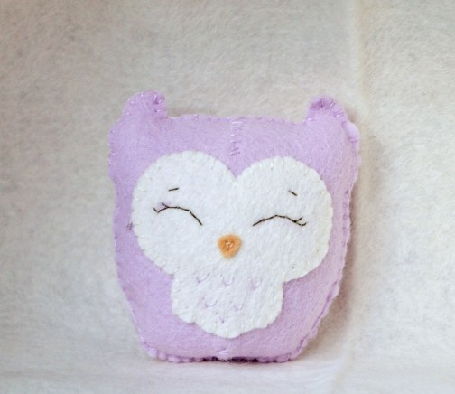 Little purple owl