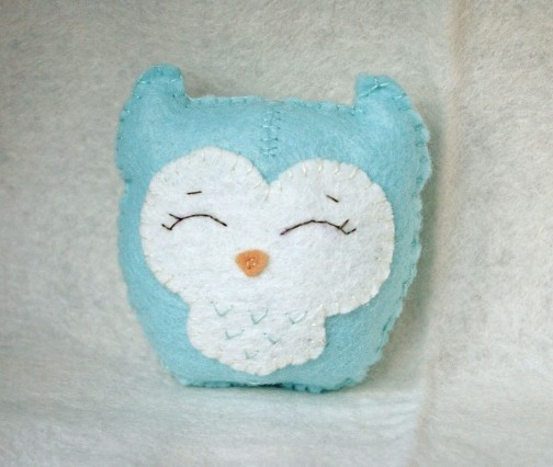 Little blue owl