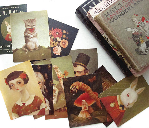 alice postcards