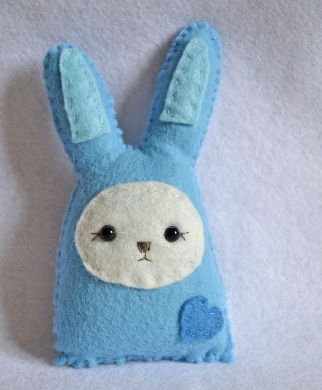 bunny 1 blue