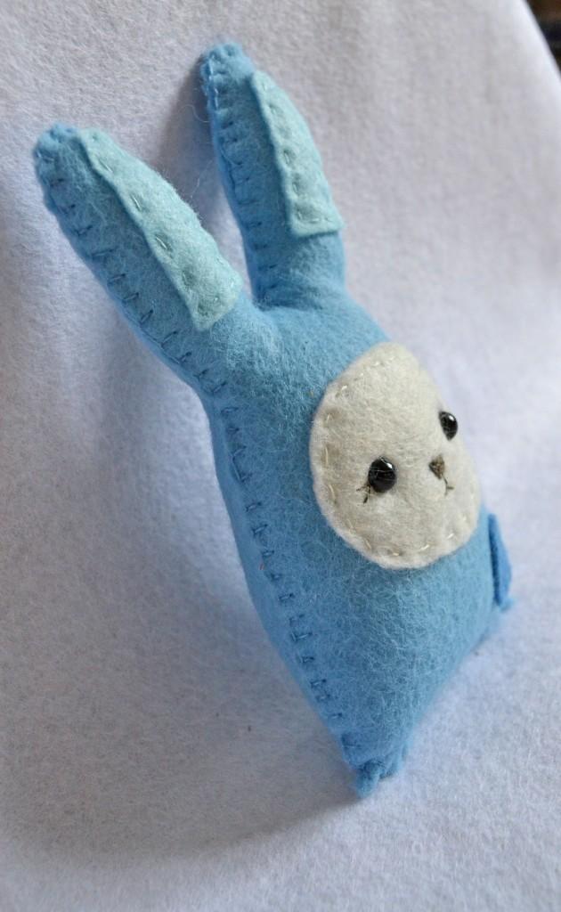 bunny 3 blue