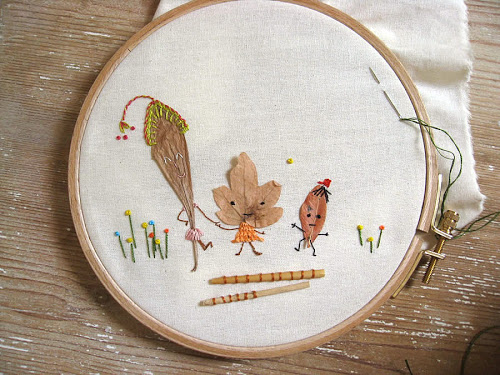 fantastic embroidery inspiration