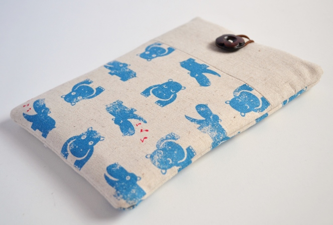 hippo kindle case