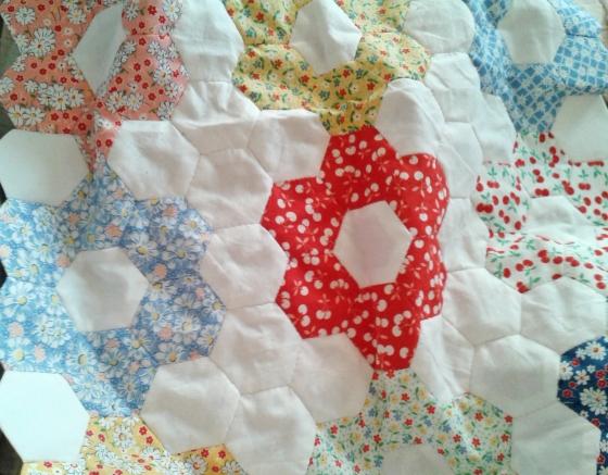 grandmother garden quilt