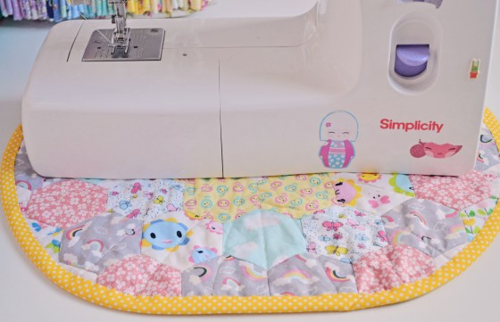 Sewing Machine Table Mat