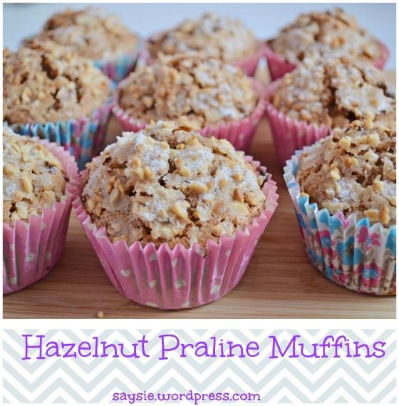 hazelnut and praline muffins (2)