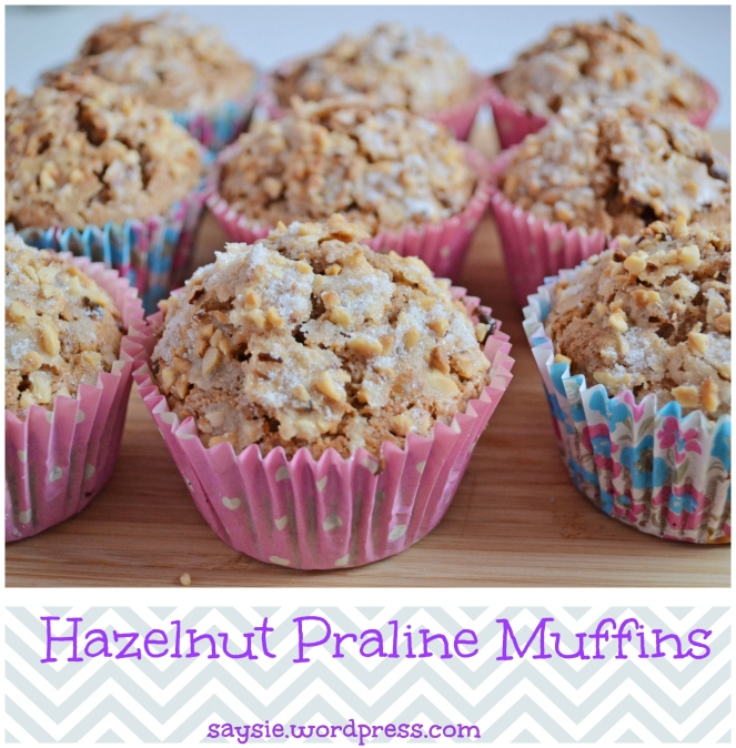 hazelnut and praline muffins (2)