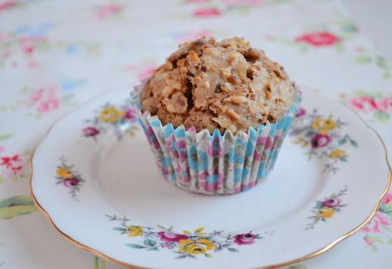 hazlenut praline muffin