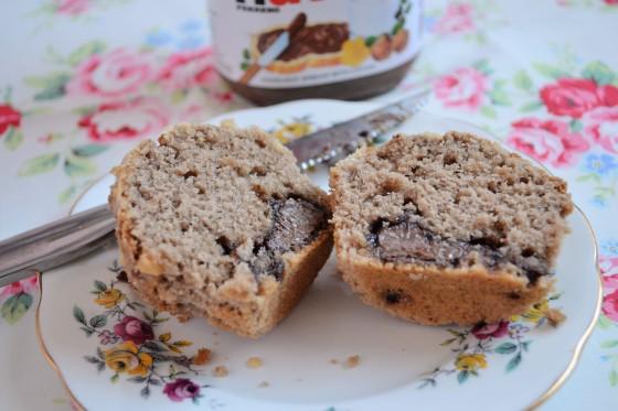 Hazelnut Praline Muffins