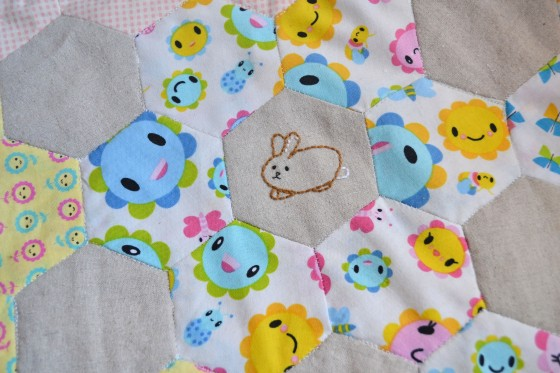 Spring Stitching - Bunny