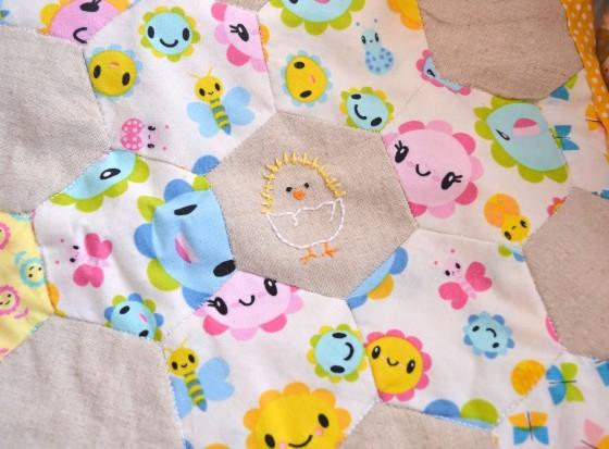 Spring Stitching - Chick