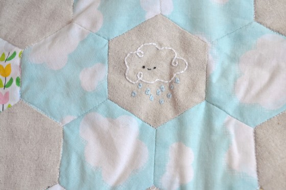 Spring Stitching - Cloud