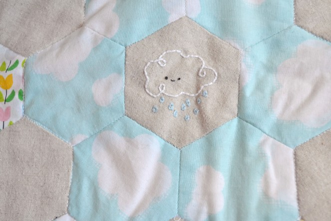 Spring Stitching - Cloud