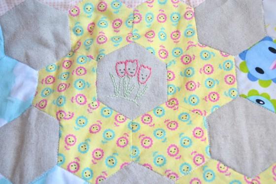 Spring Stitching - Crocuses