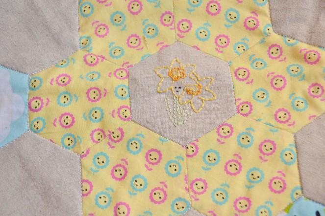 Spring Stitching - Daff