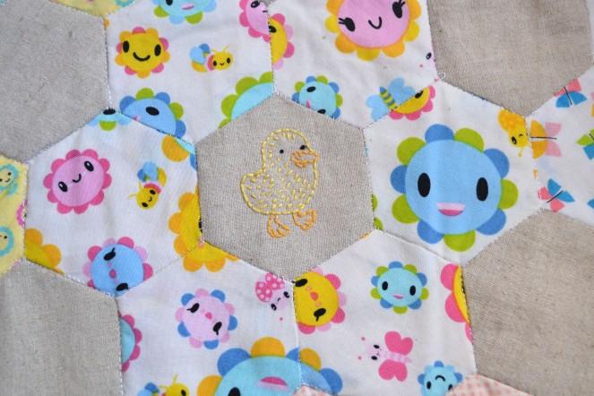 Spring Stitching - Duckling