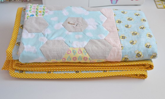 Spring Stitching - Finished 2