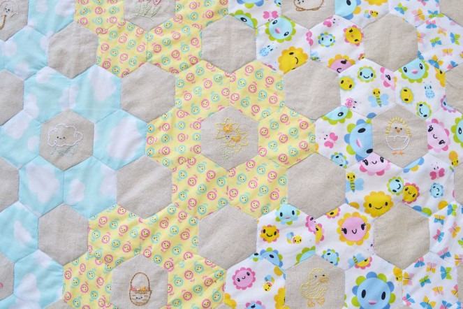 Spring Stitching - Half