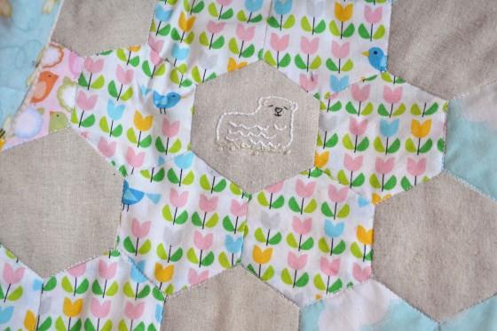 Spring Stitching - Lamb