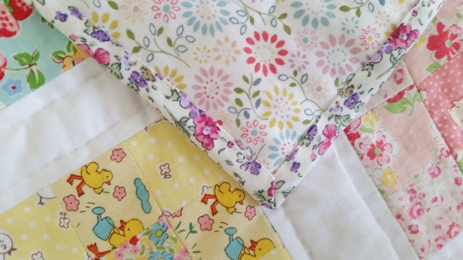 Quilt petite - A little quilt for Mabel