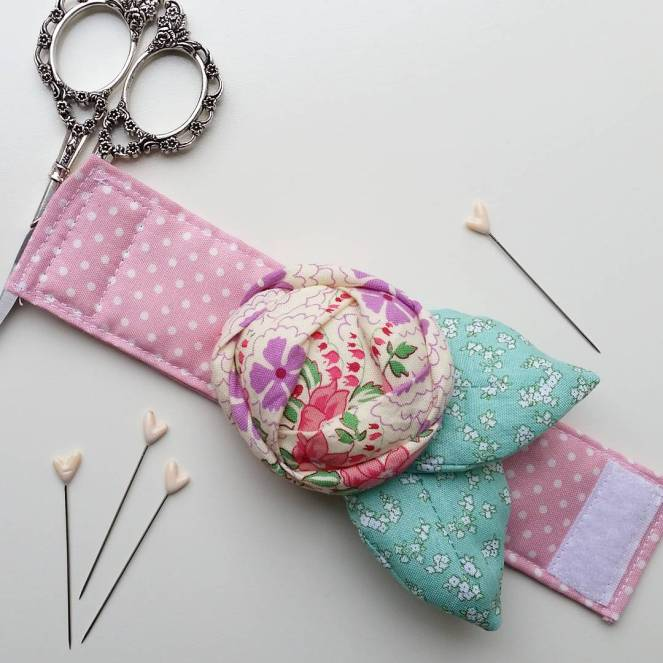 Rose Pincushion Cuff