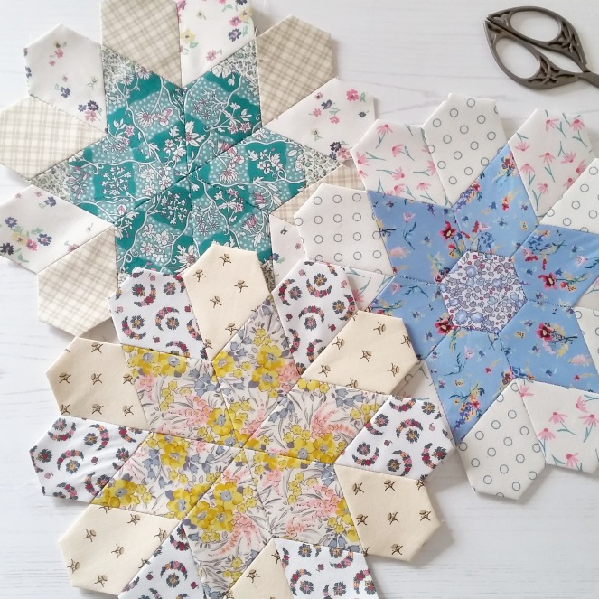 Sew and Quilt Blooming Blossoms Quilt