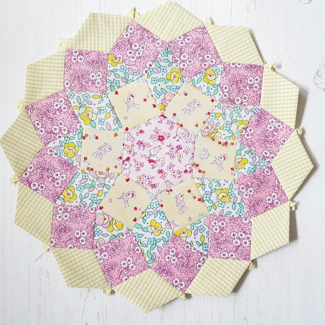 Mandolin quilt block