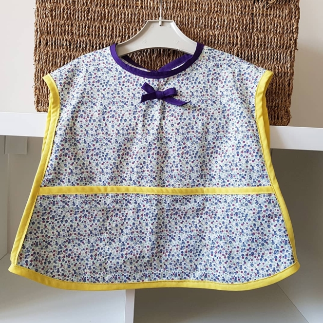 Tiny Floral Toddler Apron
