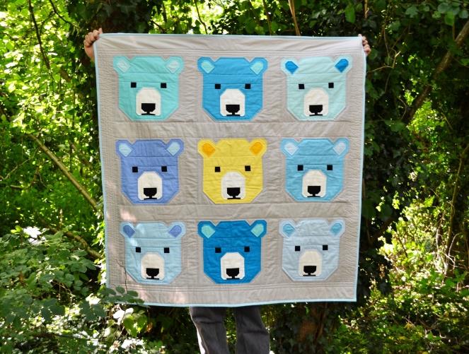 Bjorn bear quilt