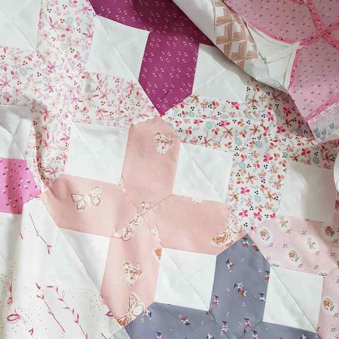 dollhouse quilt top