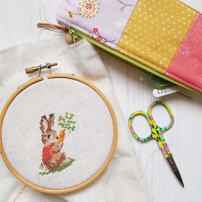 Flopsy bunny cross stitch