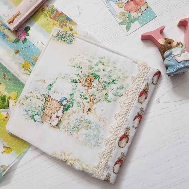 Flopsy bunny sewing organiser