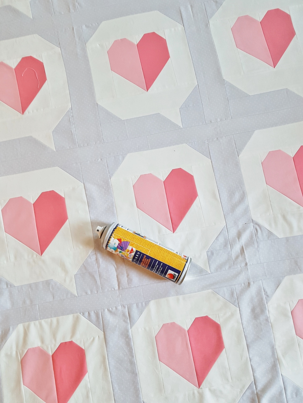 I heart you quilt top.... how do you quilt yours?