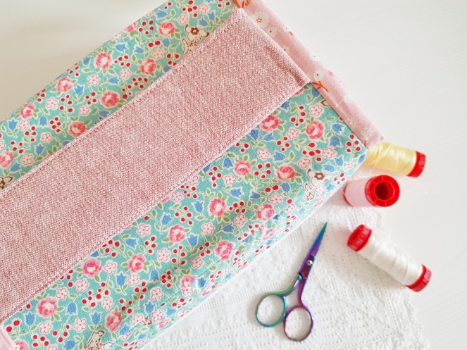 Just in Case Pouch - A new pattern from Aneela Hoey