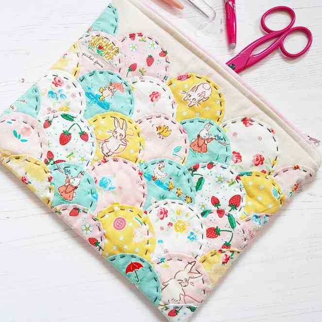 Bunnies Clamshell Pouch