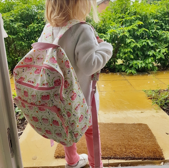 A New School Bag - Piggie Backpack