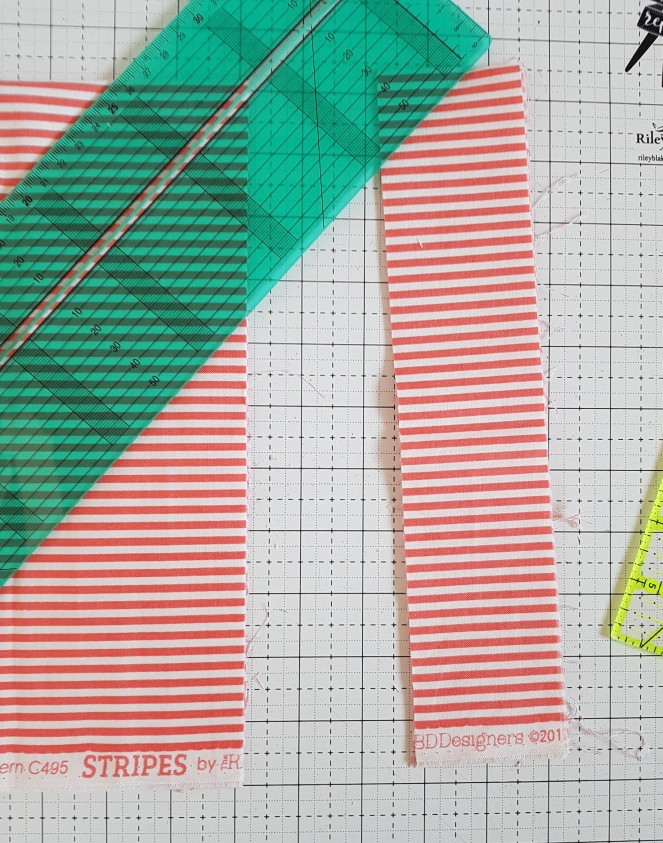 Making binding with a Clover Binding Ruler