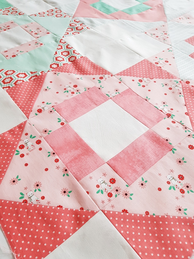 Rose Lane fabric - Meadowland Quilt