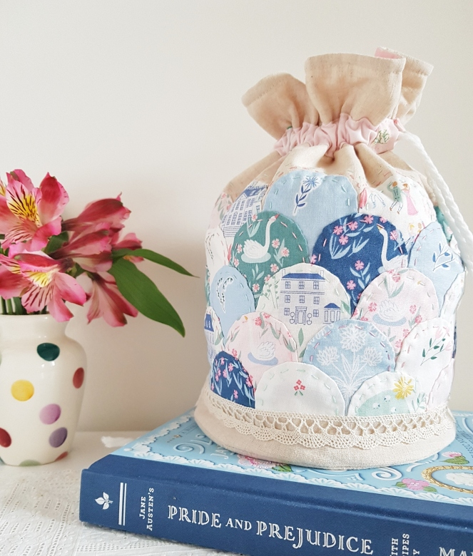 Pemberley Fabric Clamshell Dilly Bag - Riley Blake Designs