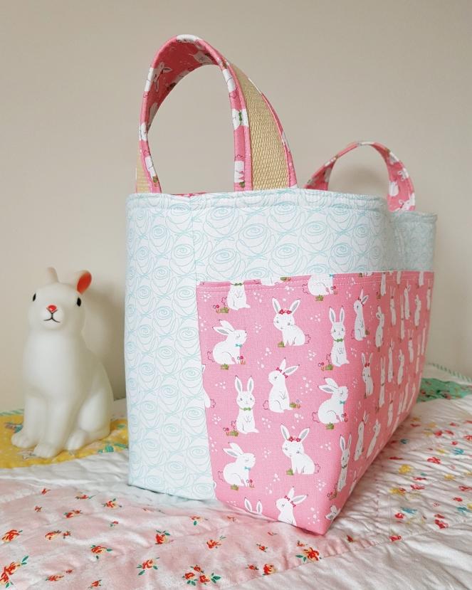 Winifred Rose - Divided Basket