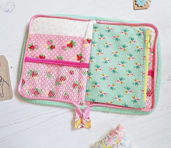 Birthday Stitchers Swap - Clamshell Flora Supply Case