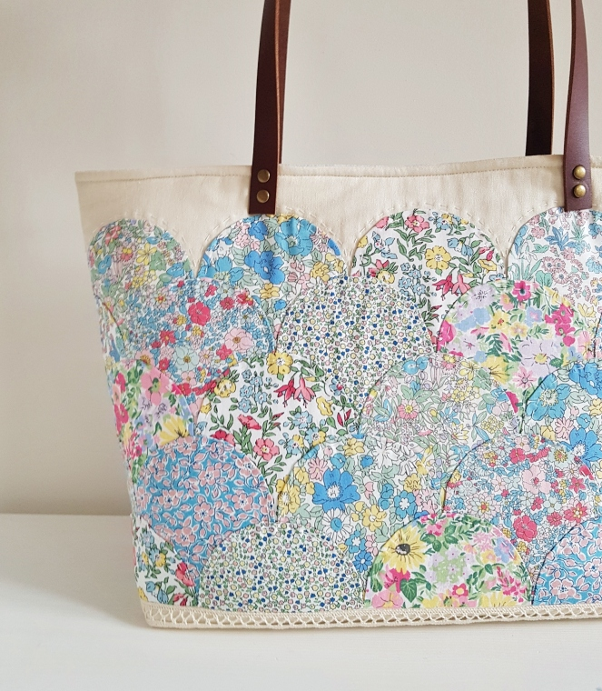 Liberty Flower Show Spring - Clamshell Tote