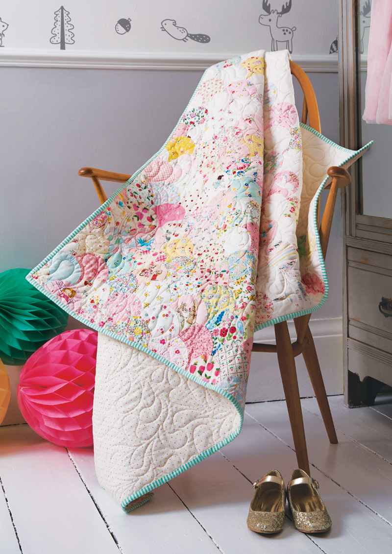 Cute Clamshell Quilt - Love Patchwork and Quilting