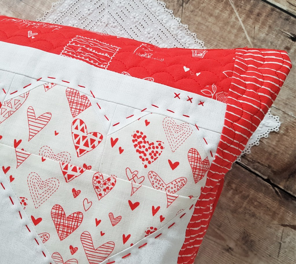 From the Heart - Valentines Pillow