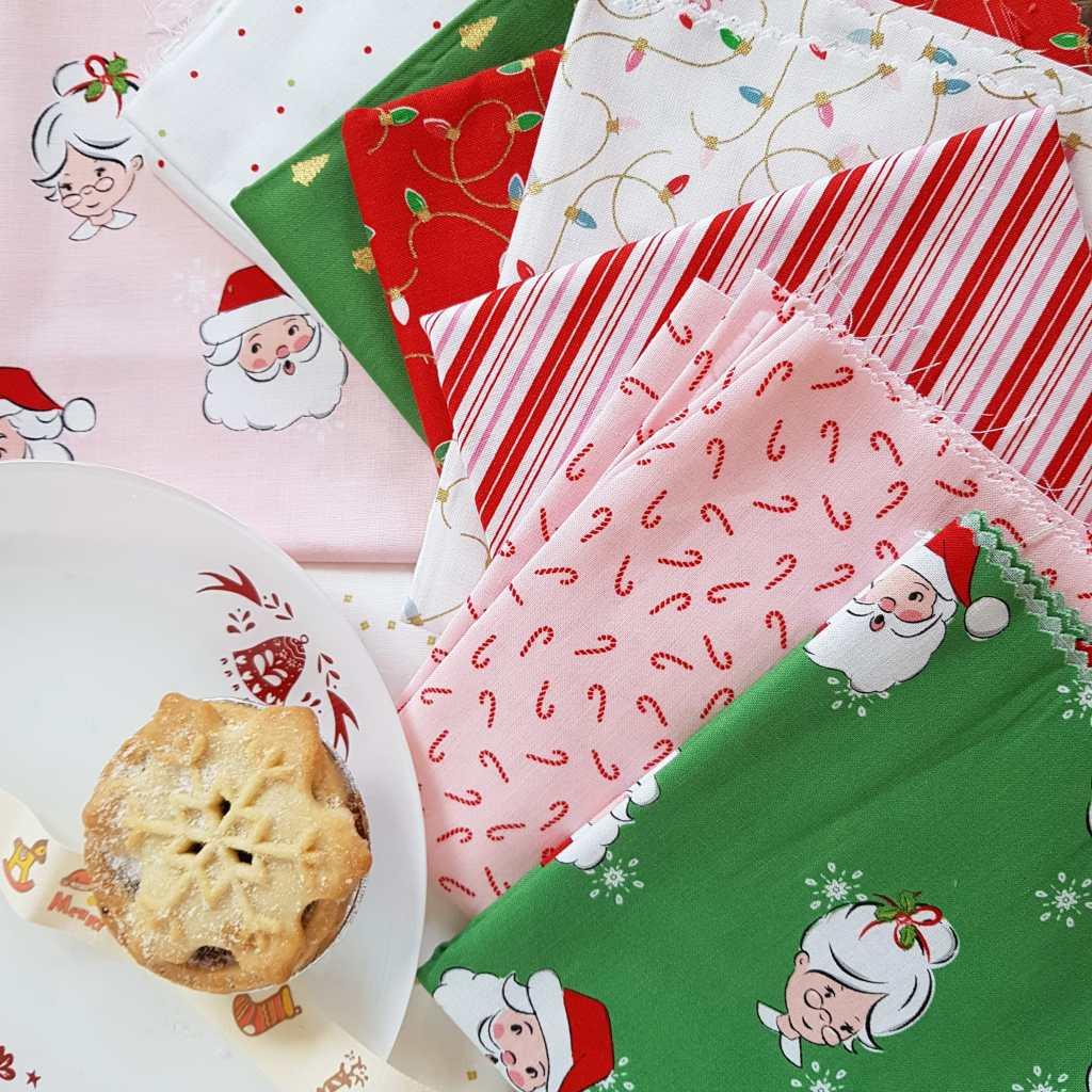 Santa Claus Lane Fabric