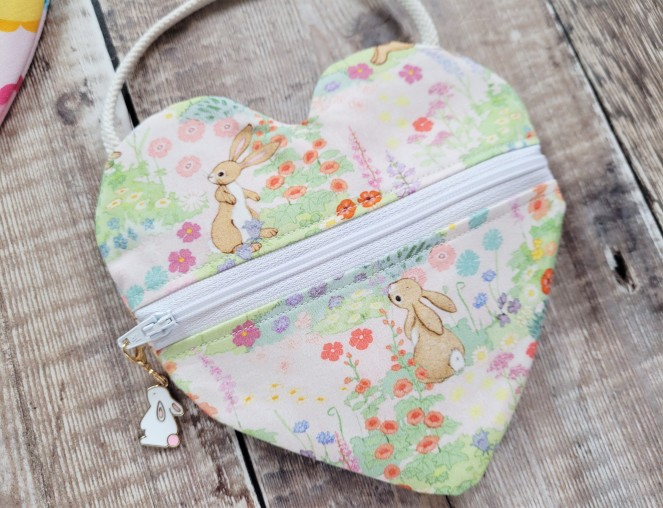Pattern Parade - week 4 - I heart you bag